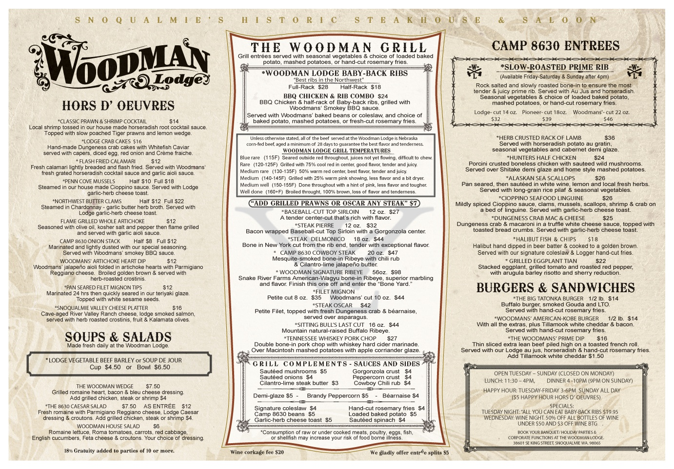 Woodman Lodge Steakhouse- Restoring a Piece of Snoqualmie